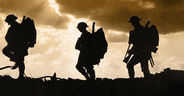 world war 1 soldier paper
